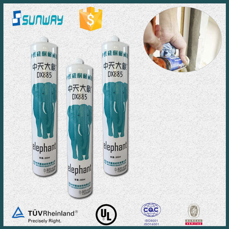 300ml Silicone Sealant, Transparent Silicone Sealant, Multi-purpose Silicone Sealant