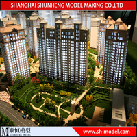 Real Estate Construction Architectural Model And