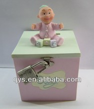Kids Coin Bank with Lock, Money Box