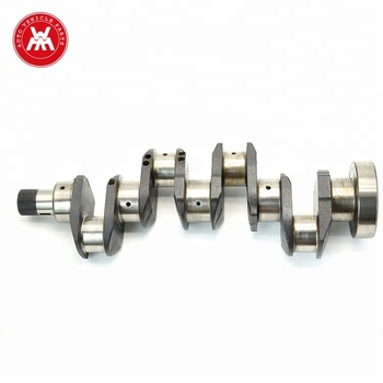 Weltake WMM China New Diesel Engine Crankshaft For Massey Ferguson
