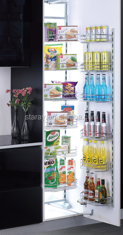 Staray Two Open Pantry Organizers for Huge Storage