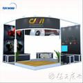 Detian Offer exhibition booth panel simple design booth custom exhibition booth design