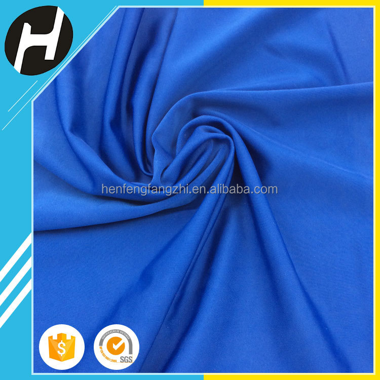 china supplier breathable elastic recycled polyester spandex fabric for yoga wear