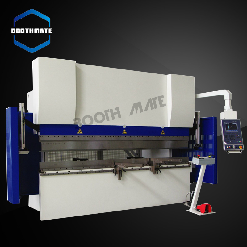 press break machine WC67K 100T/3200 hydraulic press design and metal brake for hydraulic press