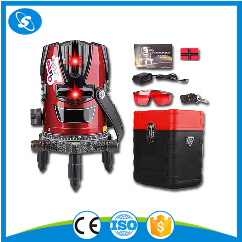 1V1H red beam rotary laser level meter rotating multiline pro line laser machine
