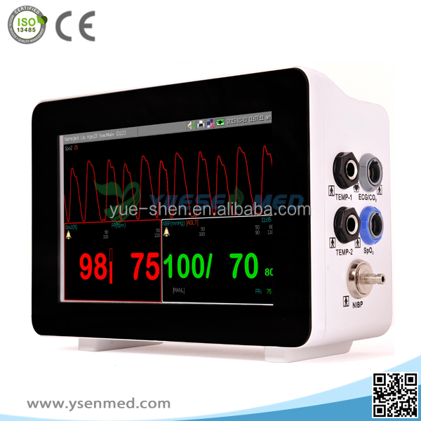 YSF3 best selling medical mini muiti parameter veterinary and human use portable patient monitoring system for sale