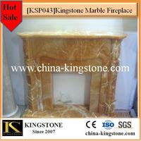Chinese popular indoor used marble fireplace different types
