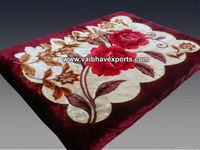 Super Soft Acrylic Mink Blanket Supplier