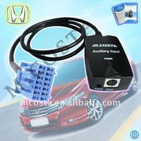aux in car auxiliary input for ipod with wholesale price(CE/FCC/RoHS approved)