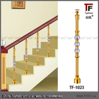 Typhoon handrails for stairs of stainless steel / chrome handrails for stairs
