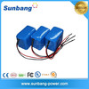 high quality rechargeable golf cart battery 24v 10Ah 18650 lithium ion battery