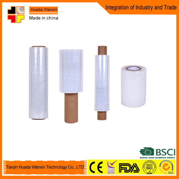 Black Polythene Stretch Film Roll