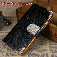 Hot selling good brand cheap price crystal bling bling cell phone case for samsung galaxy s4
