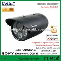 2012 very hot sale new design ccd digital camera with white light new technology from china famous cctv manufacturer