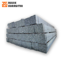 gi rectangular steel hollow section weight low price pre-galvanized square steel pipes erw galvanized piping