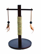 T bar wooden scratcher 30*30*497cm Cat tree