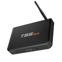 1CHIP international tv box T95 max Android 5.1 Amlogic S905 2GB RAM 32GB ROM T95max H.265 Smart 4K Dual Wifi Kodi 16.0 tv box