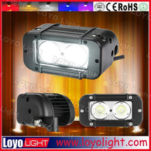 Small size 5'' 20W waterproof IP 68 curved offroad boat LED light bar LED SPOTF LOOD Work Light BAR 4WD BOAT lighting