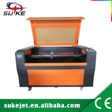 CE FDA 80W carpet laser cutting machine/motorized up and down table laser cutting machine,machine for cutting and splitting wood