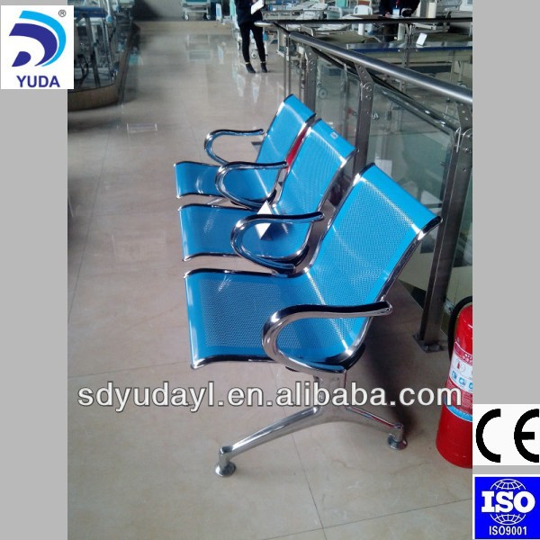 high quality stainless steel chair for waiting room