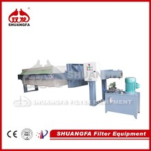High Quality Chamber Filter Press Machine With Best Dewatering Effect For Syrup Filtering