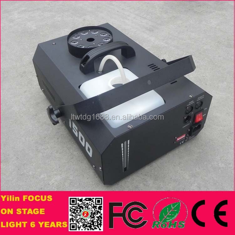 Foshan Yilin 1500w Portable Electric Dmx-512 Led Smoke Machine ...