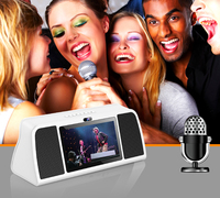 MINI All in one Karaoke KTV Pad with multimedia android tablet karaoke player