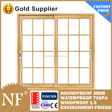 aluminium automatic sensor glass sliding door