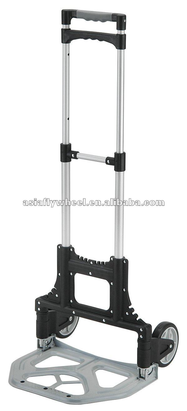 Lightweight aluminium folding hand trolley