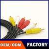 Good Speed New product Hot sale with good price 3 male RCA cord to RCA audio vidio extention Cable