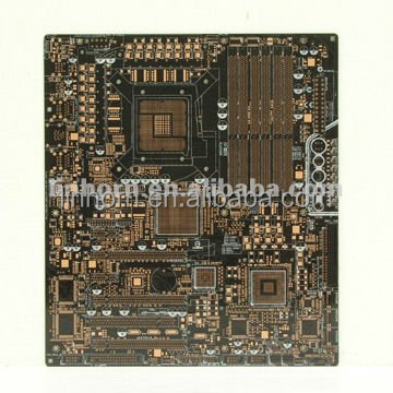 OSP finish 10L PCB server mother board for notebook graphic card PCB