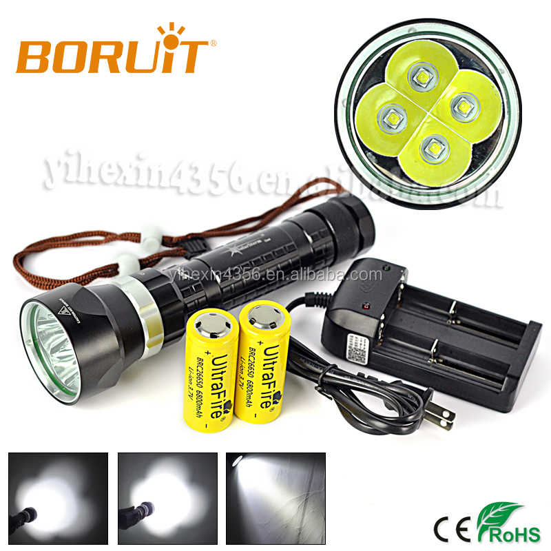 High Power Cree LED Diving Flashlight 25W