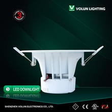 led Dimmable 10W/12W/15W/25w cutout 70mm/90mm SMD LED Downlight SAA approval Australia standard,low price downlights