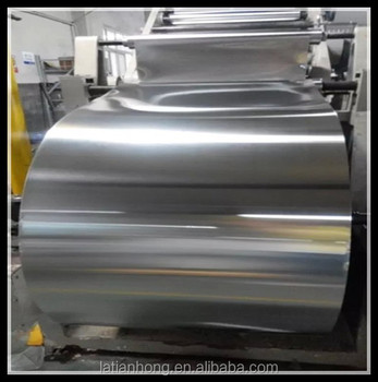 Silver color double side Aluminum tape jumbo roll used as eletrical material