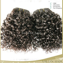 China wholesale natural hotsale raw unprocessed cheap malaysian curly hair