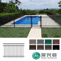 China Factory Supply High Standard Cheap Aluminum Pool Fencing