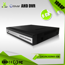 1080P 8 channel Hybrid DVR P2P AHD TVI CVI CVBS Network dvr security