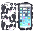 Cute Panda Monkey Cartoon Case Silicone Cover for iPhone 6 Plus 6+ Lovely Animal Silicon Case for iPhone 6/6S Girls Women