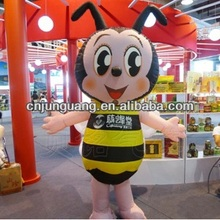 2017 custom inflatable moving cartoon for promotion