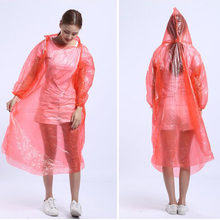 raincoat disposable,Raincoats Type and Polyester,100%high quality PE Material cheap rainwear
