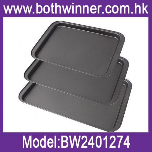 Roaster pan bbq baking tray beef pan ,h0tj4 pizza tray for sale