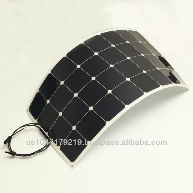Grape Solar PhotoFlex 100W Monocrystalline PV Solar Panel