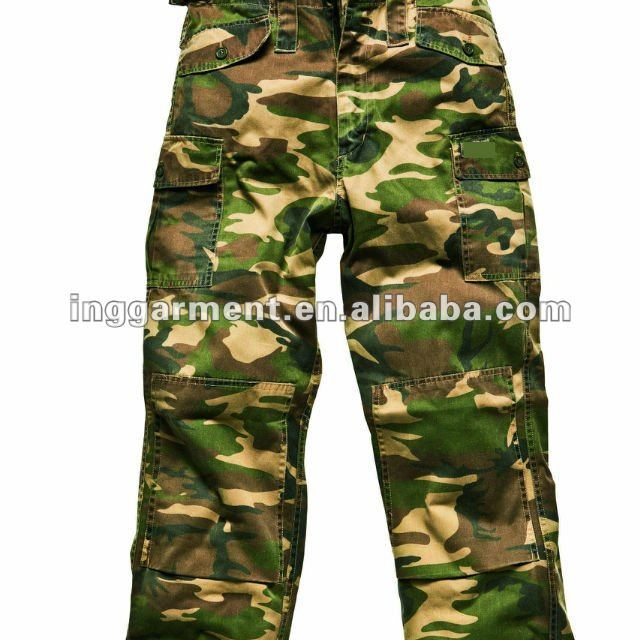 Camouflage Working Pants