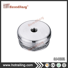 304/316 mirror stainless steel stair railing accessories round pipe stair handrail cover