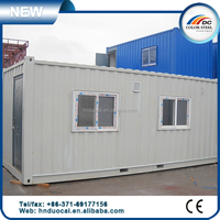 Movable foldable prefabricated container house flat,customized worker container house