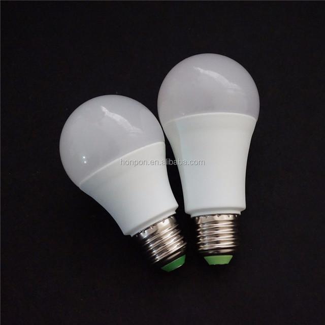 Chian manufacture led bulb 3w 5w 7w 9w 12w led light, e27 b22 base led light bulb