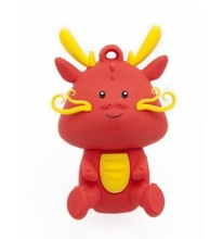 Cute 3D PVC Dragon Shaped USB Flash Drive, Novelty PVC USB Disk/Pen drive/Thumb Drive for Promotional Gift, 2GB,4GB,8GB,16GB