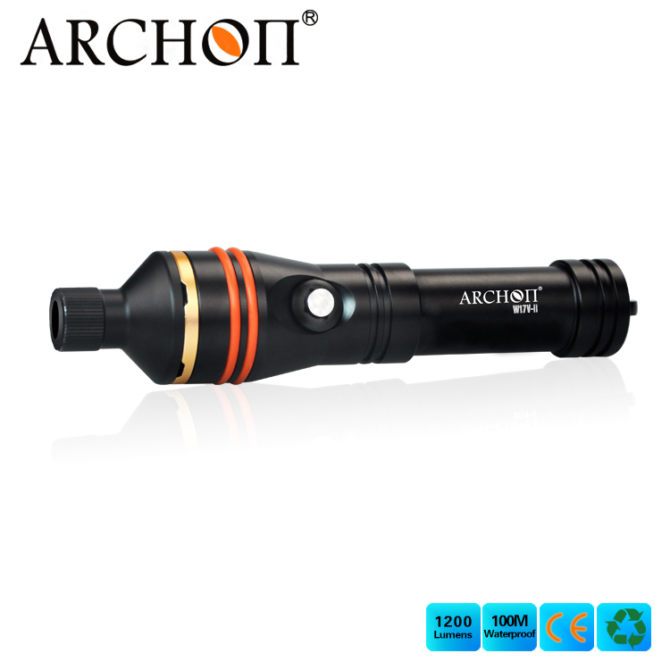 Archon W17V-II Underwater Flashlight with Snoot Macro Photographing <strong>Lamp</strong>