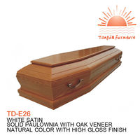 TD-E26Funeral cardboard coffin for sale