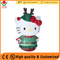 Wholesale cheap price customized mini inflatable christmas animals, cute inflatable decorations